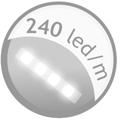 240 led metro