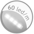 60 led metro