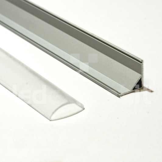 Profili in alluminio ad angolo per strisce led supporto - Philips illuminazione casa ...