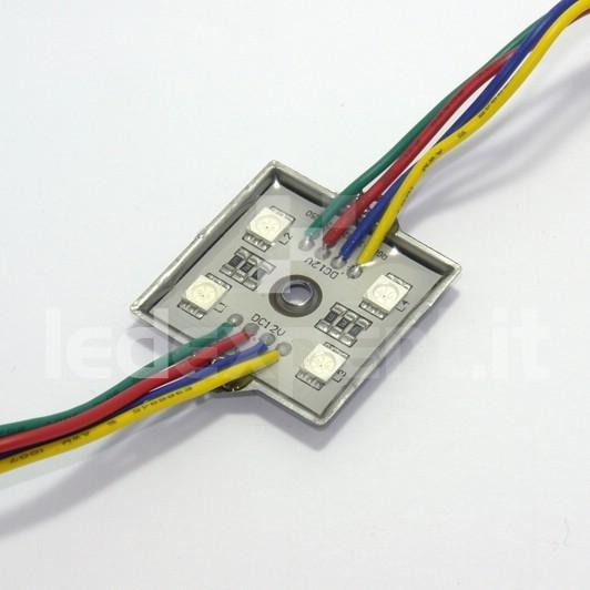 Modulo 4 Led RGB