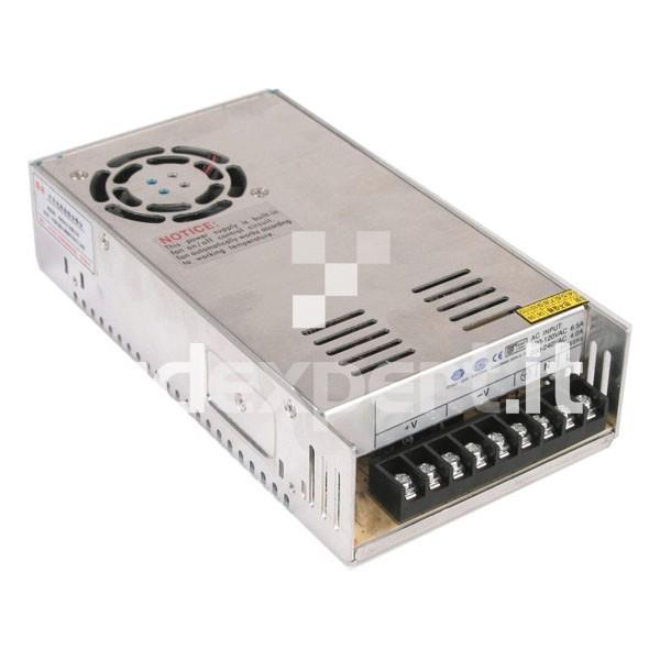 Alimentatore Switching 24 Volt - 380 Watt - 16A