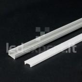 Profilo per Strisce Led - Super Slim Opalina